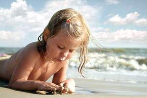 море и ребенок