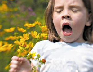 алергия у ребенка