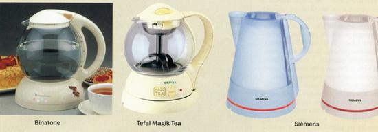 прозрачные чайники