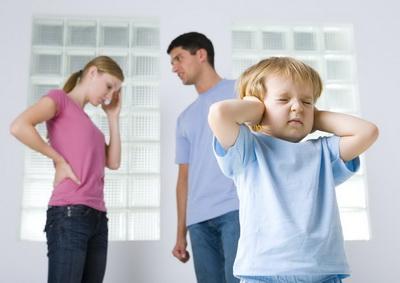 Ссоры из-за воспитания детей