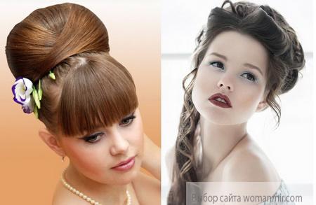 элегантные прически на длинные волосы