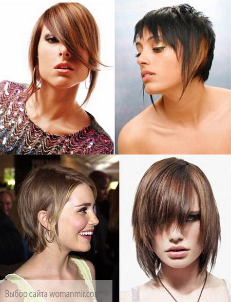 фото стрижка боб дівчата з тонкими волоссям