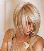 Стрижка боб на тонкие волосы