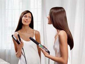 пользоваться утюжком для волос